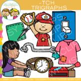 Ending Trigraph Clip Art: -TCH Words