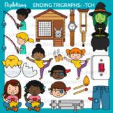 Ending Trigraph Tch Clipart