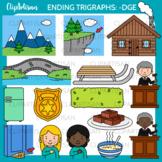 Ending Trigraphs Dge Clipart