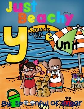 """Ending Y Sounds Like E: Just Beachy! (A Mega """"Y Like E"""" Unit!)"""