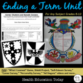Ending a Year/Term Bundle: 8 Fun, Interactive Lessons FOR ANY 6th-12th CLASS!