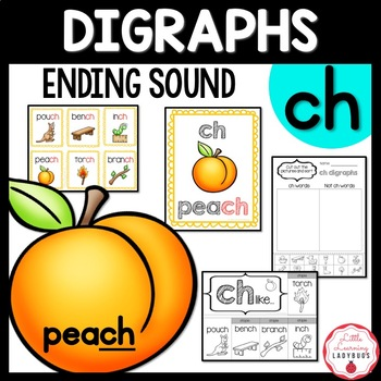 Ending /ch/ Digraph Pack