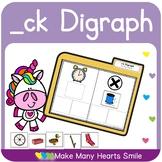 Ending ck Digraph Sorts     MMHS21