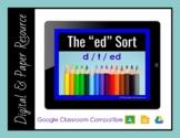 """Ending in ed - The """"ed"""" sort!"""