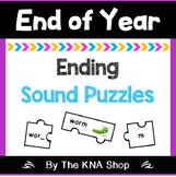 Ending sound puzzles