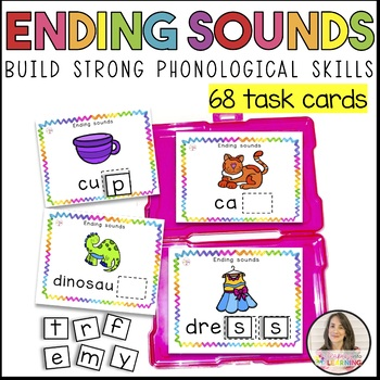 Ending sounds - Task Cards