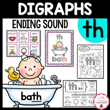 Ending /th/ Digraph Pack
