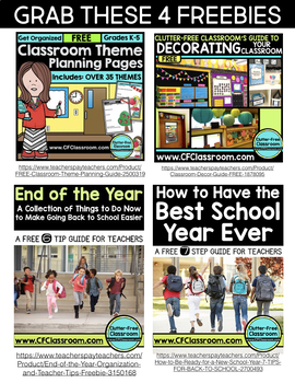 Ending the School Year Guide: Tips, Ideas, and Printables for Teachers