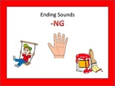 Literacy Centers: Ending Sounds: NG