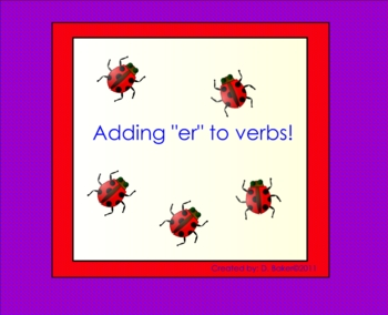 Endings Smartboard Lesson