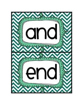 Endings -nd word sort