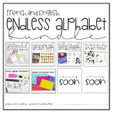 Endless Alphabet Bundle for English and French Classrooms