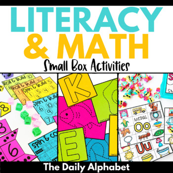 Endless Bundle: Small Box Activities