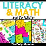 Endless Bundle: Small Box Activities