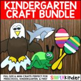 Kindergarten Crafts (Endless Bundle)