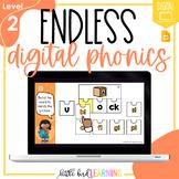 Endless Digital Phonics Bundle - LEVEL 2 | Distance Learni