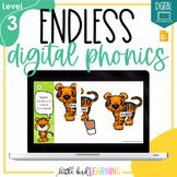 Endless Digital Phonics Bundle - LEVEL 3 | Distance Learni