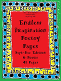 Endless Imagination Poetry Pages: September- December Edition