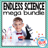 Kindergarten & First Grade Science {Growing} Bundle (science units for the year)
