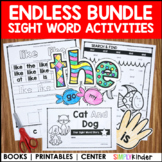Kindergarten Sight Word Books (Endless)