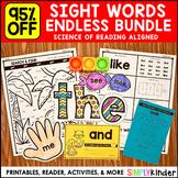 Kindergarten Sight Word Books (Endless) : Sight Words Kindergarten & Preschool
