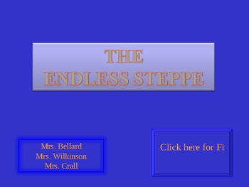Endless Steppe Jeopardy Game