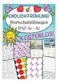 Endlich FRÜHLING! Spring German Beginner 20 pages activiti