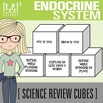Endocrine System Science Cubes
