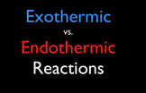 Endothermic & Exothermic Reactions