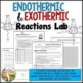 Endothermic Exothermic Reactions Lab