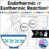 Endothermic and Exothermic Reactions: Cut and Paste Sorting Activity