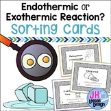 Endothermic and Exothermic Reaction Sorting Activity
