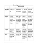Enduring Issue Rubric