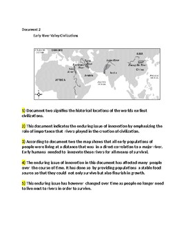 Enduring Issue Step by Step Essay