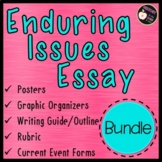 Enduring Issues Essay Bundle