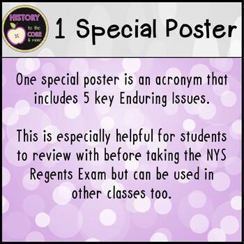 Enduring Issues Posters- Bonus Pack