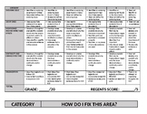 Enduring Issues Essay Rubric and Comments Menu
