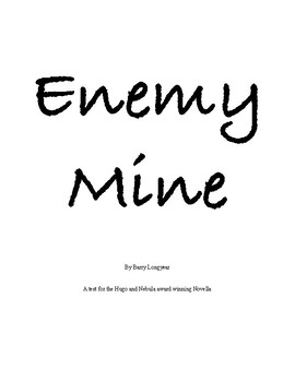 Enemy Mine: The Award Winning Science Fiction Novella