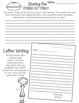 Worksheets to Teach Writing - Story Pictures