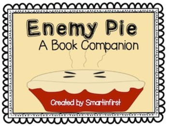 Enemy Pie Book Companion Packet