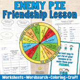 ENEMY PIE Friendship Lesson - Reading Comprehension Writin