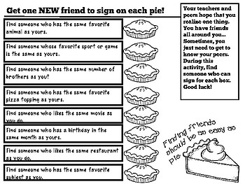 Enemy Pie Book Study Questions and Activities