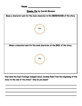 Enemy Pie Character Inferencing