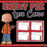 Enemy Pie Character Trait Task Cards