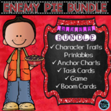 Enemy Pie Character Traits Activities Bundle