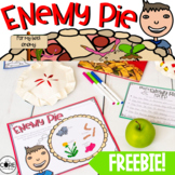 Enemy Pie: FREEBIE Interactive Read-Aloud Lesson Plans and