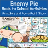 Enemy Pie, Fun Back to School Activities and Printables