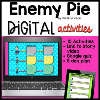 Enemy Pie ~ Google Drive and Classroom
