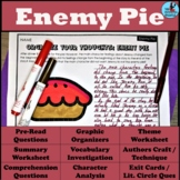 Enemy Pie Graphic Organizer and Question Set