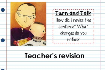 Enemy Pie Interactive Mentor Sentence Teaching Powerpoint